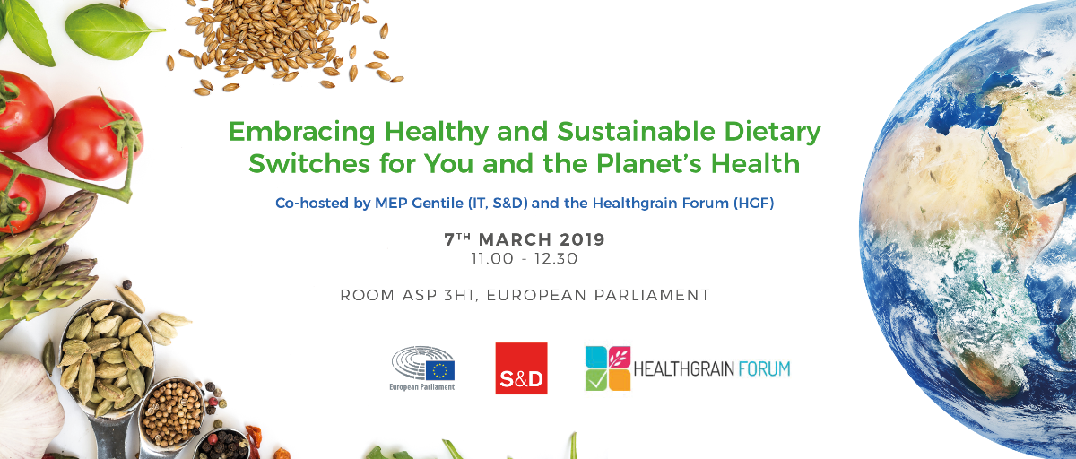 Healthy and Sustainable Diets Round Table | 07.03.2019 | European Parliament, Brussels