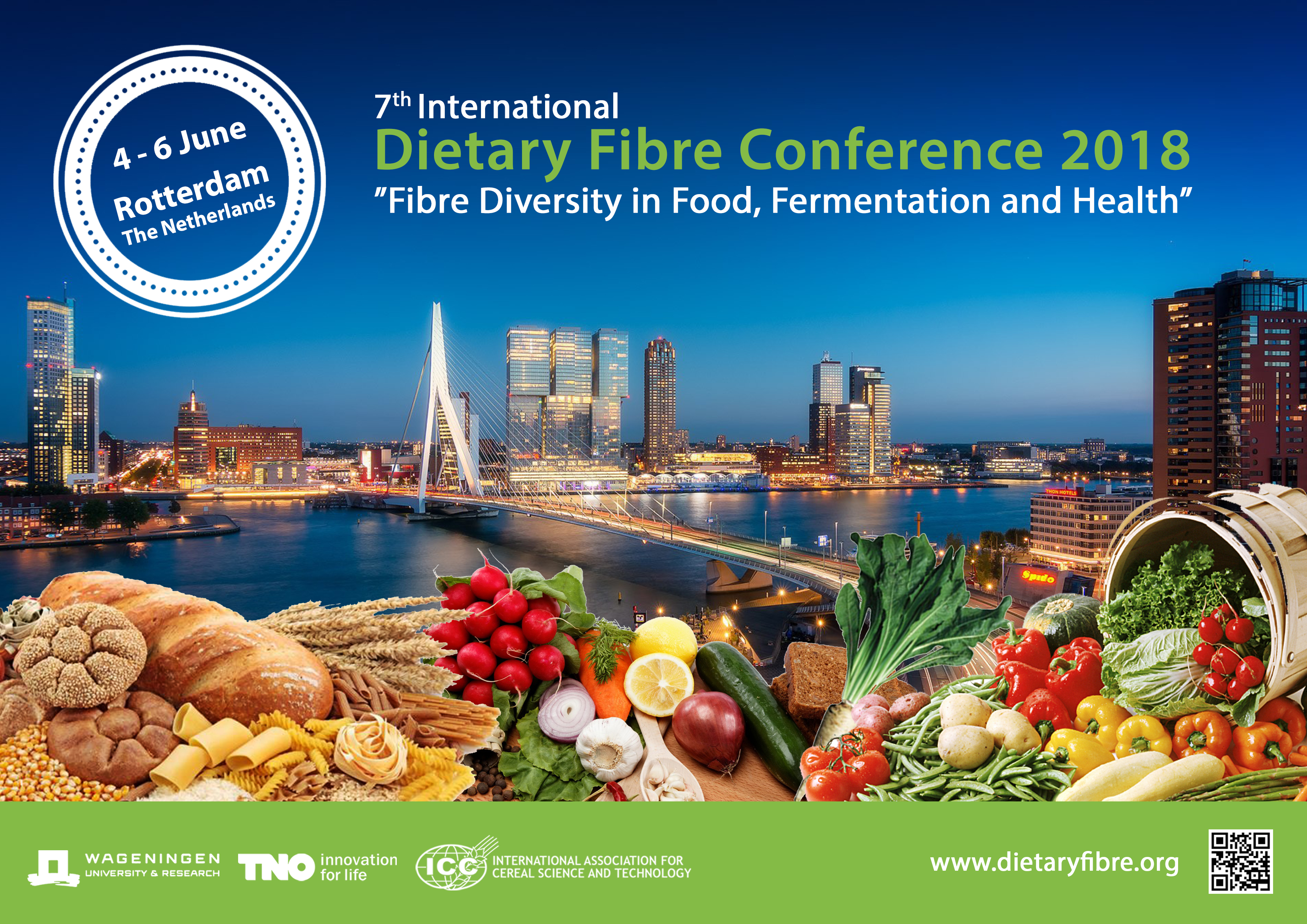 7th International Dietary Fibre Conference 2018 - Final programme available!