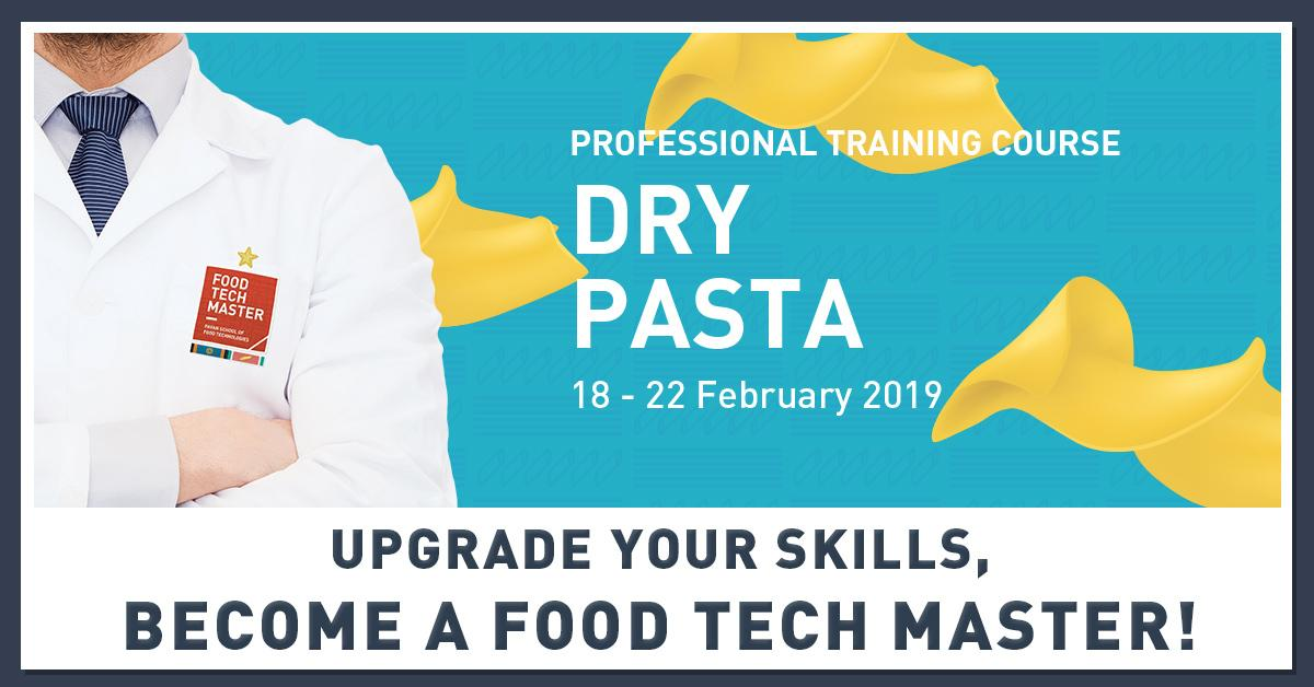 Upgrade your dry pasta skills and obtain a Certificate of Food Tech Master!