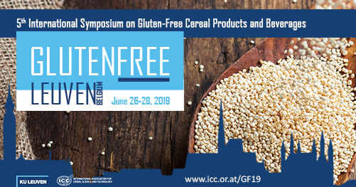 5th International Symposium on Gluten-Free Cereal Products and Beverages - Call for abstracts!