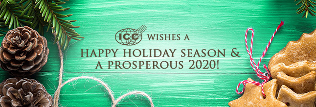 ICC Season's Greetings and new postal address