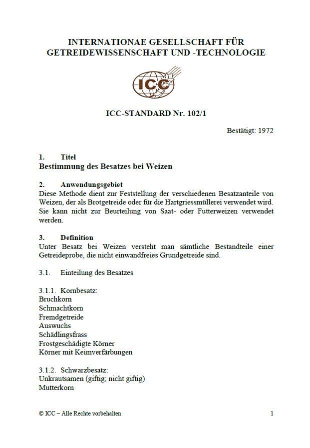 102/1 Bestimmung des Besatzes bei Weizen [PDF]